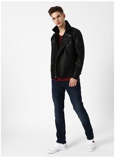 Only & Sons Only & Sons Mike Pu Biker Mont Siyah